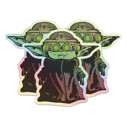 Holographic Baby Yoda NVG - Single