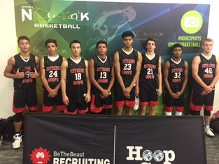 Congrats to our 11th boys red on their performance at three hoop group live period events!