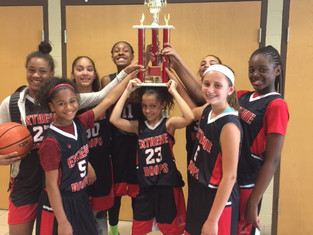 Extreme Hoops squads shining in big tournaments!