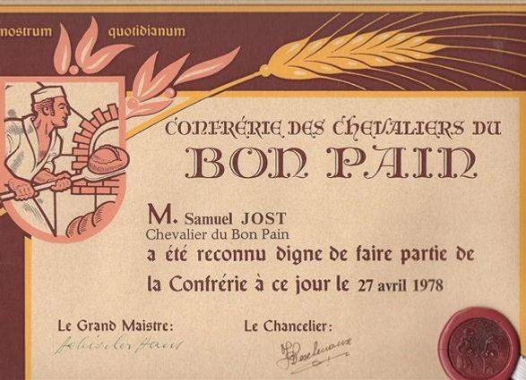 Chevalier du bon pain