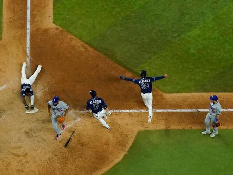 Rays stun Dodgers in wild World Series Game 4 win