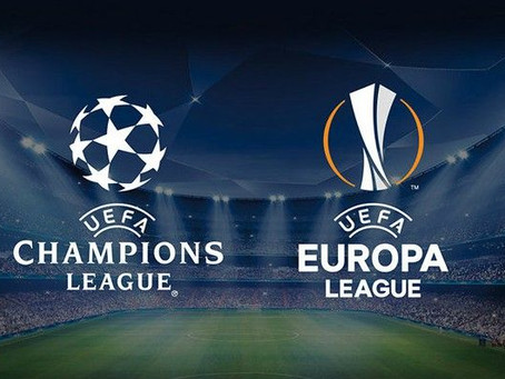 Semifinals set in UEFA Europa, Champions leagues