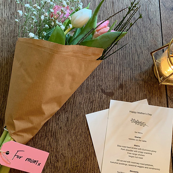 Mother's Day Three Course Menu