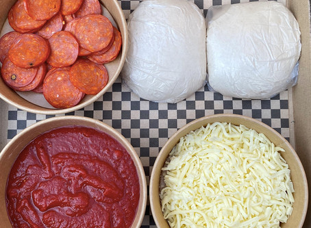'Dough it yourself' Pizza Kits