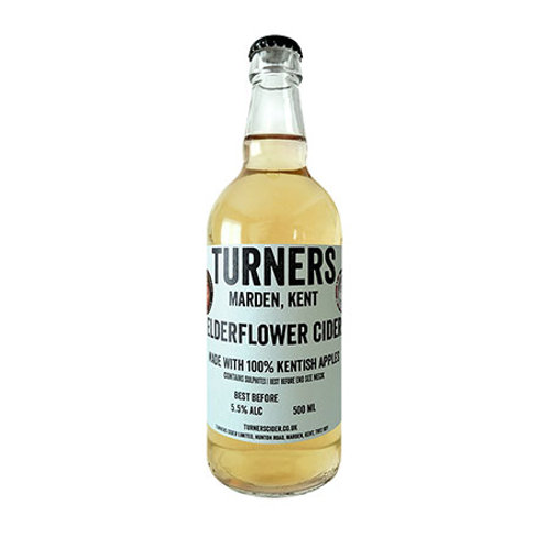Turners Elderflower Cider 5.5%