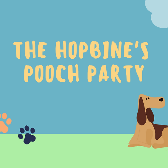 The Hopbine's Pooch Party