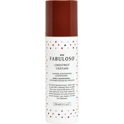 evo FABULOSO CHESTNUT Colour Intensifying Conditioner