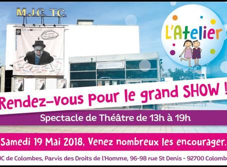 Le spectacle de Théâtre 2018