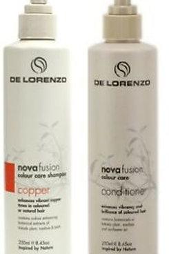 Novafusion Copper Shampoo and Conditioner duo
