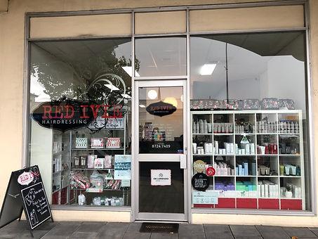 Red Ivie hair salon