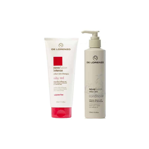 Novafusion Intense Rudy Red Shampoo and Conditioner Duo