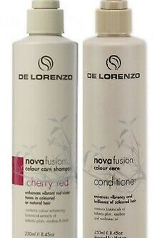 Novafusion Cherry Red Shampoo and Conditioner Duo