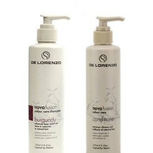 Novafusion Burgundy Shampoo and Conditioner Duo