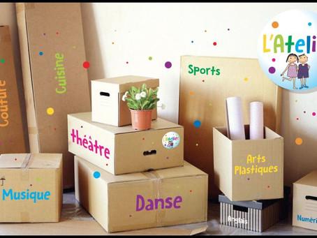 L'atelier déménage…