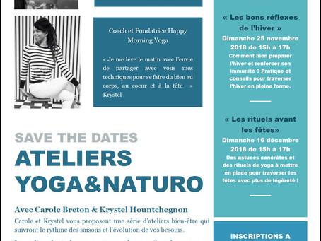 Ateliers Yoga & Naturo