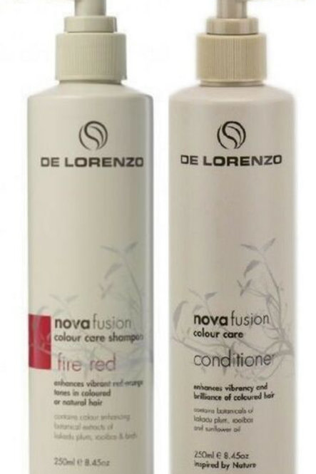 Novafusion Fire Red Shampoo and Conditioner duo