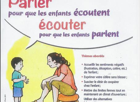 Stage Adultes : Parler pour que les enfants écoutent, écouter pour que les enfants parlent
