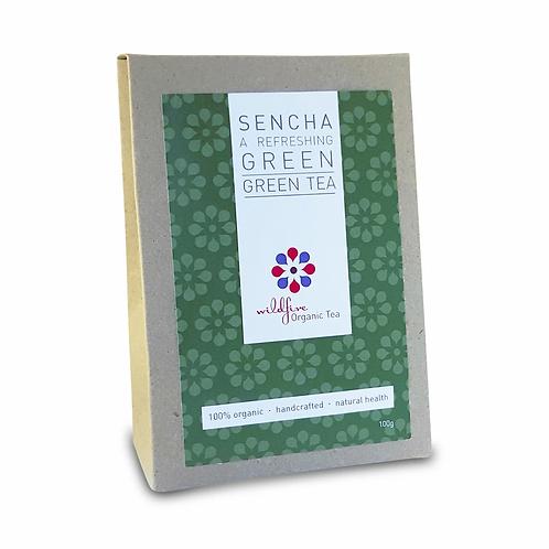 Sencha Green Tea ~ Wildfire Organic Tea