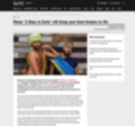 Screenshot Time Out Mag, 2 boys in saris