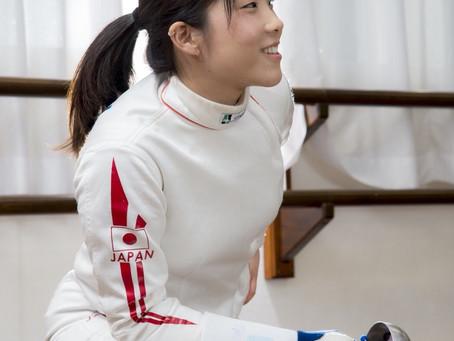 フェンシング 鈴木穂波選手との専属マネジメント契約を締結