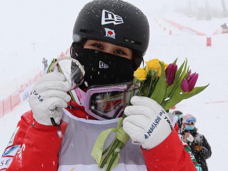 川村あんり 年間総合ランキング2位 FISフリースタイルスキーモーグル競技ワールドカップ2020-21シーズン