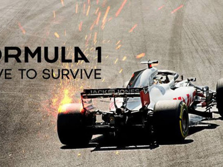 "Calling All Adrenaline Junkies w/ ""Formula 1: Drive to Survive"""