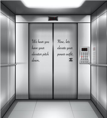 Ad Type: Alternative Media  With elevators being such a heavily utilized piece of machinery, we will be able to reach our target audience through them. We will be putting the advertisement in shopping malls, office buildings, and recruiter buildings.