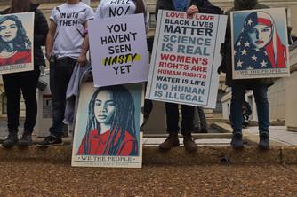 Emerson Scheerer 2017 Womens March, Washington, DC