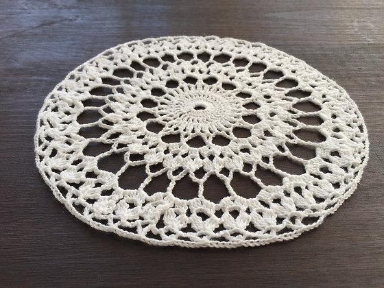 Crochet doily/mandala/dreamcatcher/handmade/flower/home decor/'Zinnia'