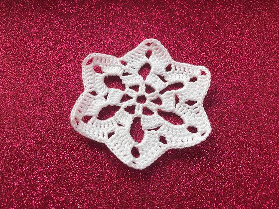 Snowflakes/Christmas tree decoration/handmade/crochet/hanging home decor