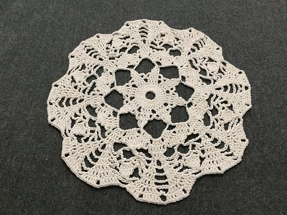 Crochet doily/mandala/dreamcatcher/handmade/flower/home decor/'Plumeria'