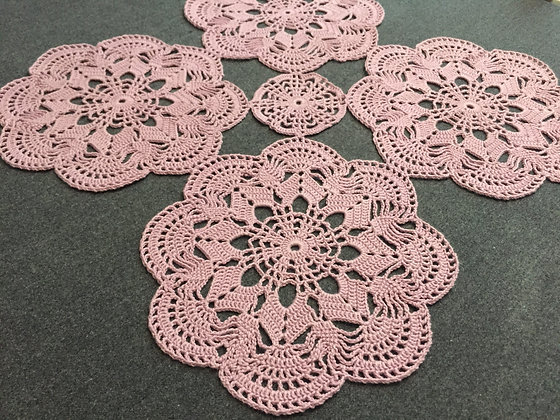 Crochet table runner/doily/mandala/dreamcatcher/handmade/home decor/'Aconitum'