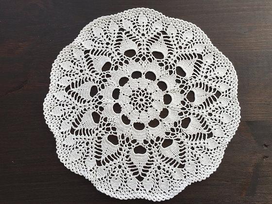 Crochet doily/mandala/dreamcatcher/handmade/flower/home decor/'Water Lily'
