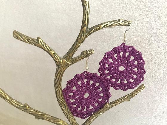 Crochet earrings/jewellery/accessories