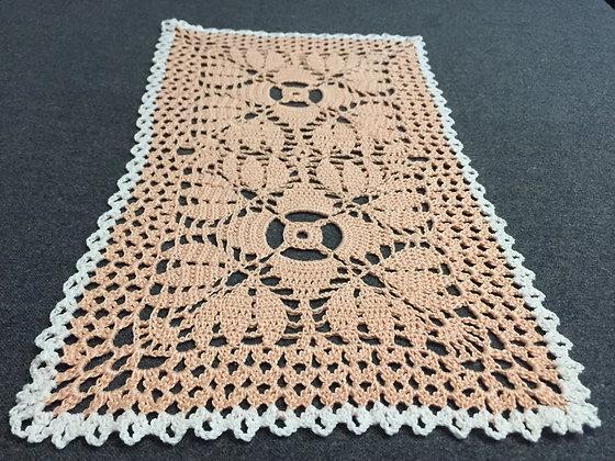 Crochet doily/handmade/flower/table runner/home decor/'Spartium'