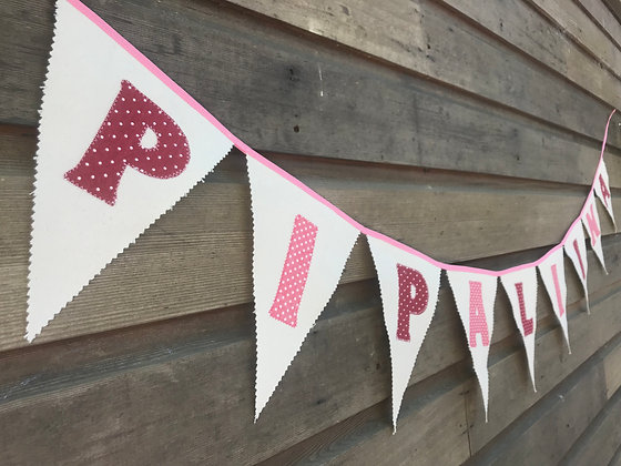 Personalised bunting/nursery decor/newborn baby/baby shower/bunting