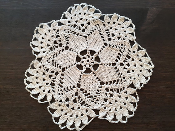 Crochet doily/mandala/dreamcatcher/table runner/handmade/'Narcissus'