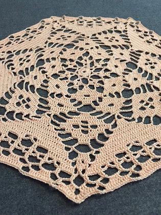 Crochet doily/mandala/dreamcatcher/handmade/flower/home decor/'Henna'