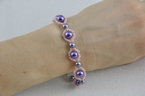 Bracelet/jewelry/beaded/handmade/'Ruth'