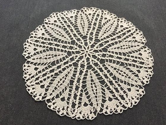 Crochet doily/mandala/dreamcatcher/handmade/flower/home decor/'Plumbago'