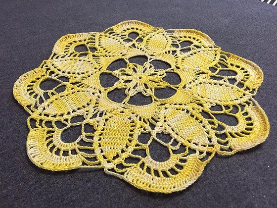 Crochet doily/Easter decoration/table runner/handmade/home decor/'Berberis'