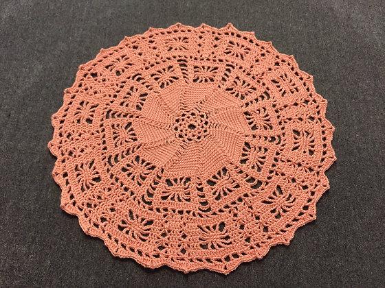 Crochet doily/mandala/dreamcatcher/handmade/flower/home decor/'Calluna'