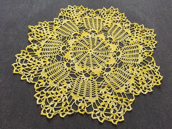 Crochet doily/Easter table decoration/table runner/handmade/'Nandina'