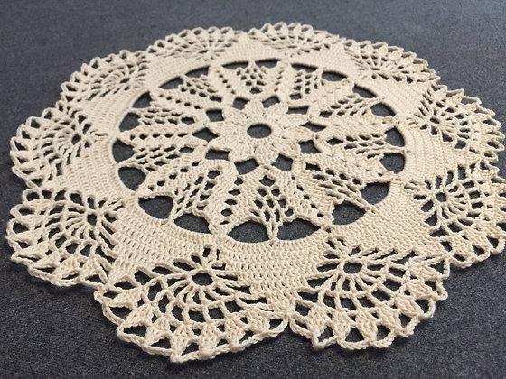 Crochet doily/mandala/dreamcatcher/handmade/flower/home decor/'Genista'