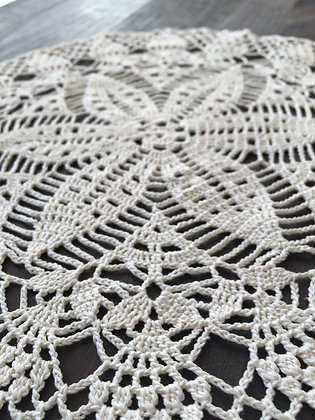 Crochet doily/mandala/dreamcatcher/handmade/flower/home decor/'Lotus flower'