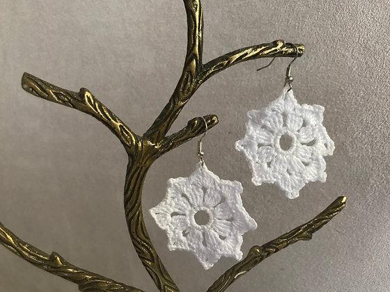 Earrings/crochet/jewellery/accessories