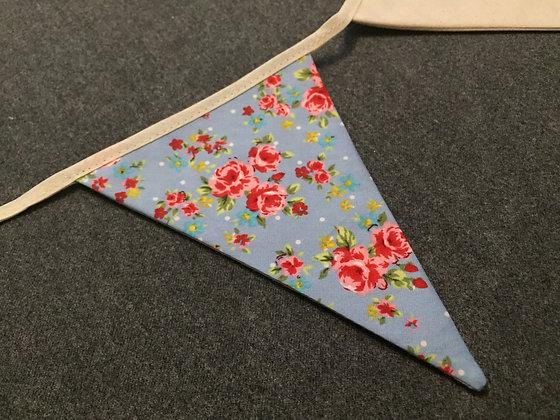 Bunting/home decor/nursery decor/liberty/handmade/floral/'Spring'