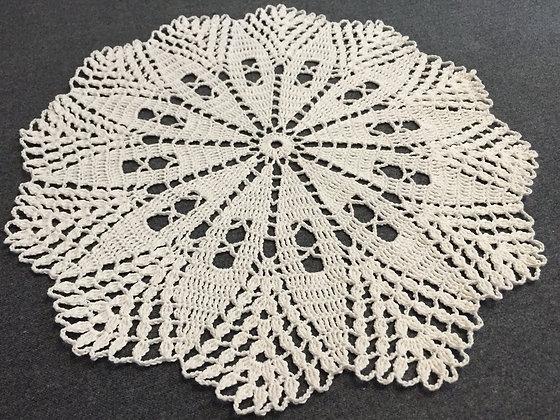 Crochet doily/mandala/dreamcatcher/handmade/flower/home decor/'Gossypium'