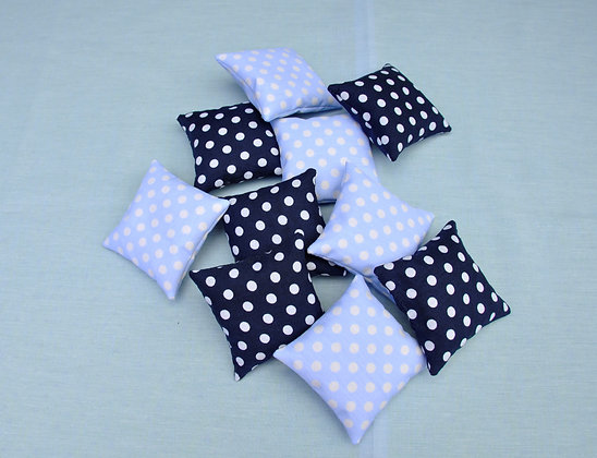 Lavender bags/sachets/lavender/dots/blue/better sleep