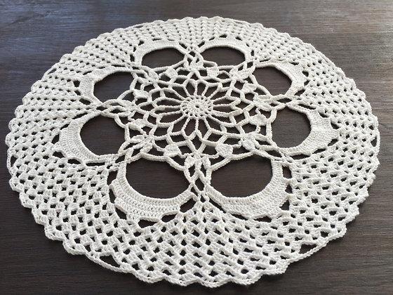 Crochet table runner/doily/mandala/dreamcatcher/handmade/home decor/'Azalea'
